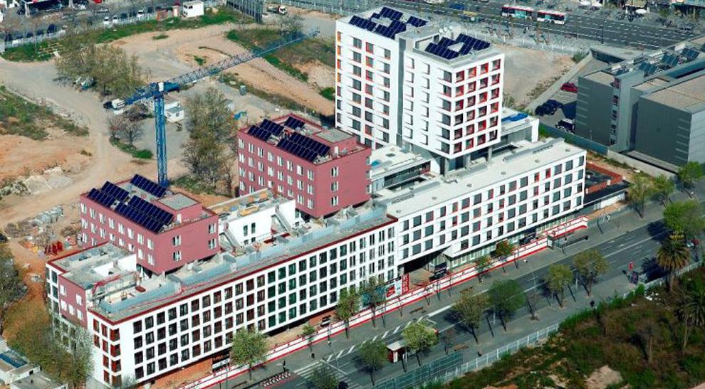 Les casernes de sant andreu project management moro - Barrio de sant andreu ...